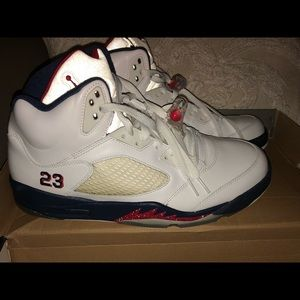 Nike Air Jordan Retro V (Independence Day size 12)